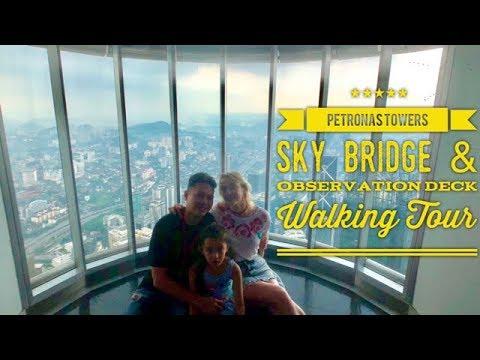 Petronas Twin Towers Walking Tour: Sky Bridge and Observation Deck Kuala Lumpur Malaysia