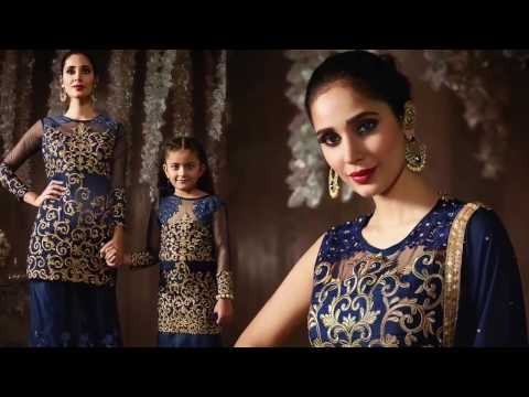 Designer Indo Western Dresses for Women & Gowns Style Party Wear Indo Western Dresses for Girls –DNU