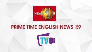 News 1st: Prime Time English News - 9 PM | (09-12-2018)