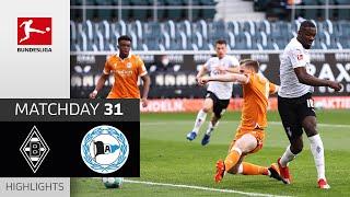 Borussia M'gladbach - Arminia Bielefeld   5-0   Highlights   Matchday 31 – Bundesliga 2020/21