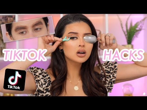 Testing Popular Tik Tok Makeup Hacks...That You Need!