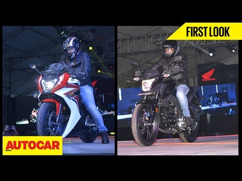 Honda CB Hornet 160R & CBR650F | First Look | Autocar India