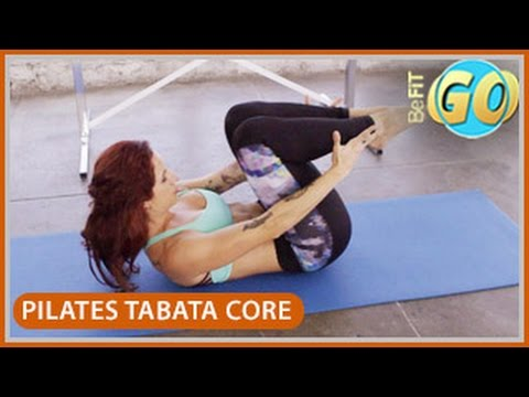 Pilates Powerhouse Tabata Core Workout: 10 Min- BeFiT GO