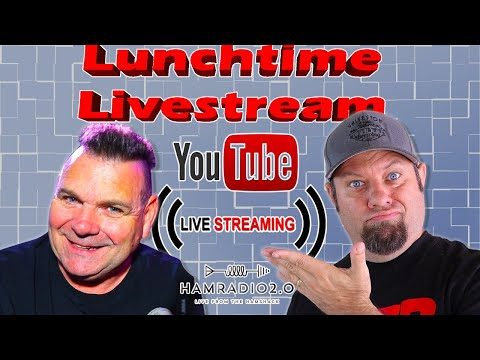 Lunchtime Livestream for Oct 21st with the DX Commander!