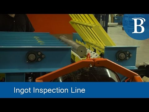 Technology Highlight: Ingot Inspection Line