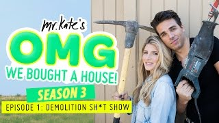 Demolition Sh*t Show! | OMG We Bought A House!
