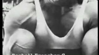 Arnold Schwarzenegger Arms Training