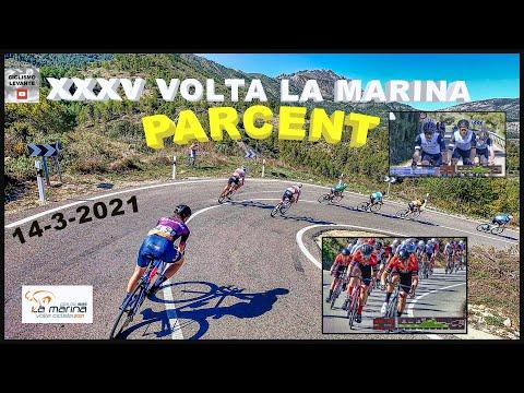 XXXV Volta La Marina 14-3-2021 Parcent Ciclismo 4K Coll de Rates