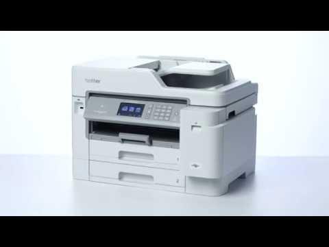 Tour de producto Brother MFC-J5945DW. Impresora Multifunción Tinta Profesional A4 con impresión A3