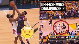 """NBA """"Art of DEFENSE"""" Moments"""