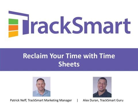 Reclaim Your Time With Time Sheets Webinar 2.24.16