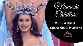India's Manushi Chhillar Wins Miss World 2017 Crown