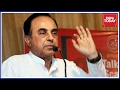 BJP Leader Subramanian Swamy Speaks On The Sasikala-OPS Saga