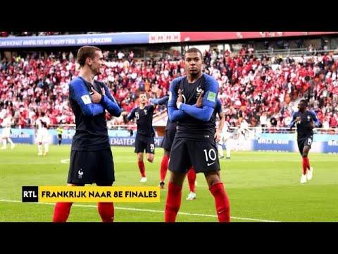 RTL Sport Update: 'Frankrijk naar 8e finales WK 2018'