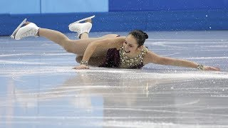Canadian Olympic figure skaters on the art of falling on ice