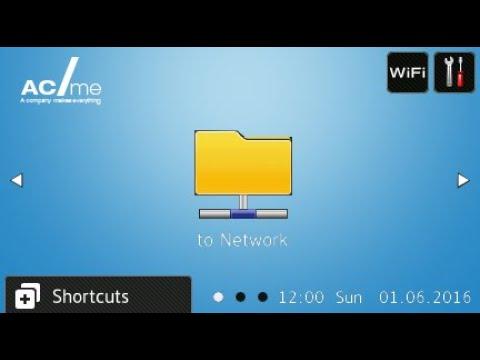 Solución avanzada Brother de personalización de pantallas, Custom User Interface