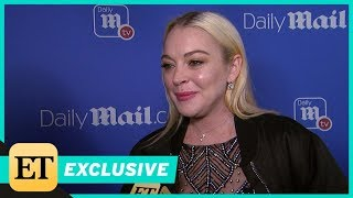 Lindsay Lohan Dishes on Relationship Status, Says She's 'Game' for 'Mean Girls' Sequel (Exclusive)