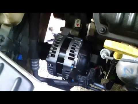 2002 Chrysler T Amp C Idler Tensioner Alternator Rpl Youtube