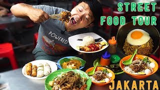 10X SPICY Instant Noodle INDOMIE Goreng: Jakarta Indonesia Street Food Tour