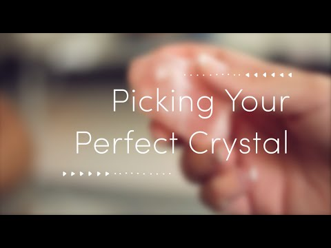 Emma Mildon | Picking Your Perfect Crystal