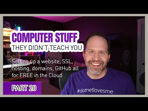 Azure Static Web Apps, Website, GitHub, SSL & hosting FREE! Computer Stuff They Didn't Teach You #20