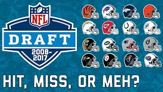 Every AFC Team's Last 10 1st Round Picks & How they Fared in the NFL   NFL Highlights