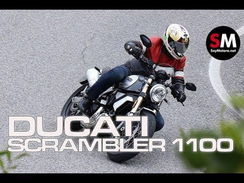Prueba Ducati Scrambler 1100 Special 2018 [FULLHD]