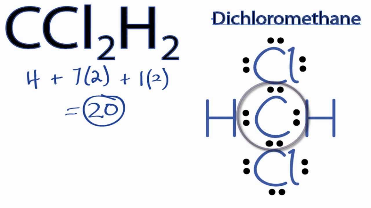 CCl2H2 Lewis Structure: How to Draw the Lewis Structure ...