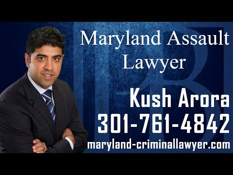 Maryland Assault lawyer Kush Arora discusses important information you should know if you have been charged with assault in the state of Maryland. Upon being charged with an assault offense, or being contacted by law enforcement officials regarding an assault offense, it is important to speak to a MD assault lawyer as soon as possible. A Maryland assault attorney will be able to review the facts and circumstances of your assault charge, and help you develop the best possible defense strategy to the state's case against you.