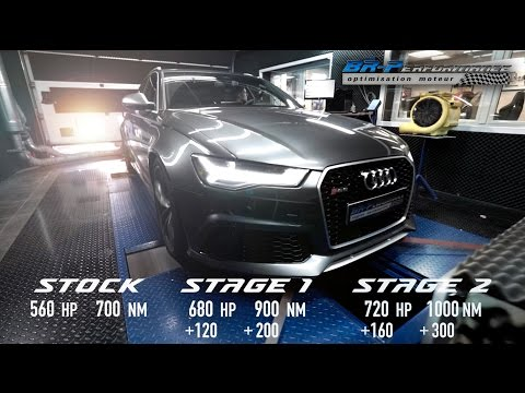 Audi RS6 Stage 2 BRP + By BR-Performance