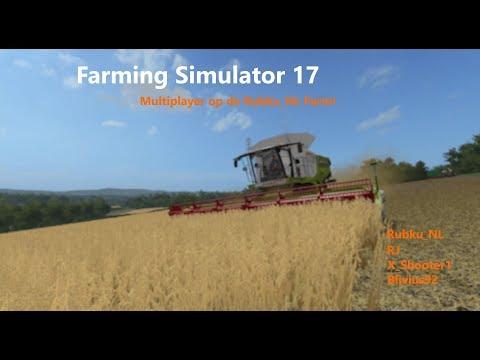 Farming Simulator 17 met Rubku_NL & Blivius92 (04/07/17)