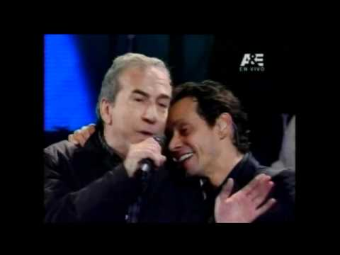 Marc Anthony con José Luis Perales - Viña del Mar 2012