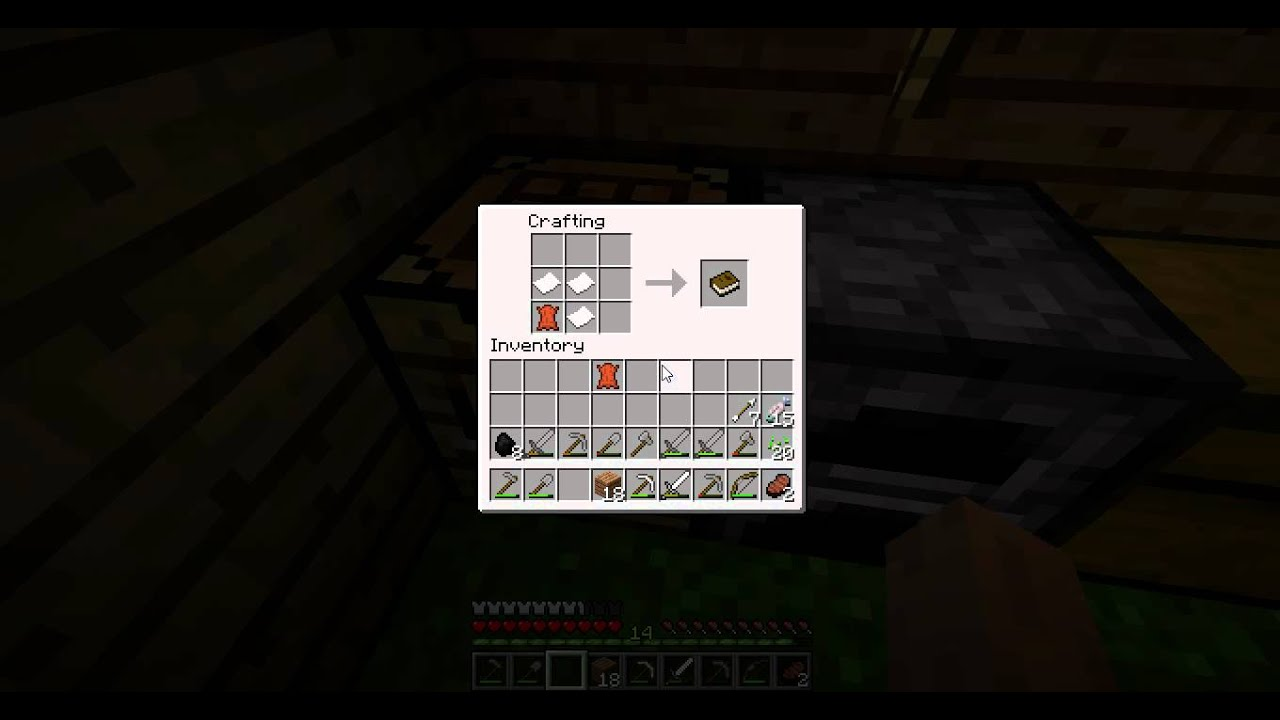 How To Craft A Written Book In Minecraft