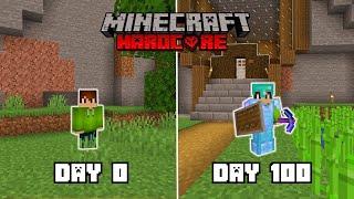 I Survived 100 Days In Minecraft Hardcore