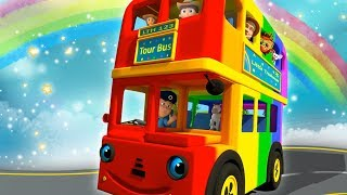 Wheels On The Bus Nursery Rhymes for Children