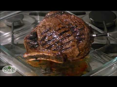 Cowboy steak / Cote de Boeuf / how to cook