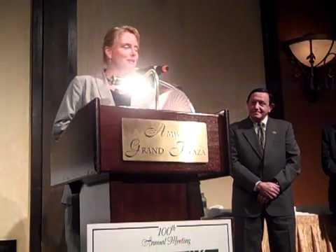 Bamberger award acceptance