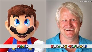 Super Mario Odyssey Characters Voice Actors
