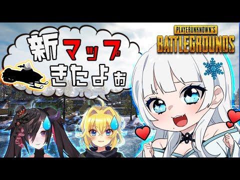 【爆笑】恐らく日本一平和なPUBGの動画だと思う。雪山MAP【にじさんじ/ゲーム/女性実況】
