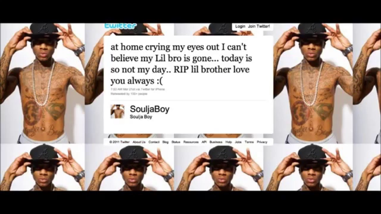 Soulja Boy Brother has died R.I.P - YouTube