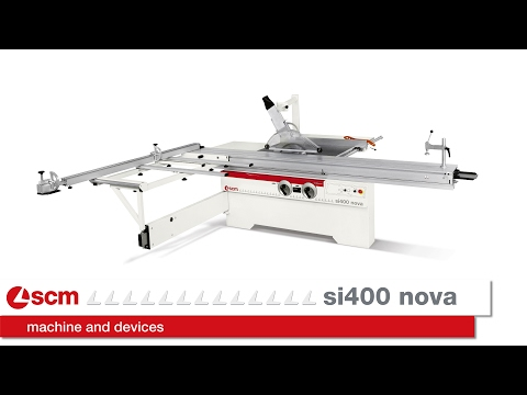 SCM Nova  SI 400 Circular Saw with Tilting Blade c/w Start/Stop Push Buttons R1.00.75