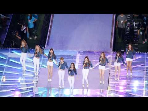 140815 SM콘서트 소녀시대 Gee + Can't take my eyes off you