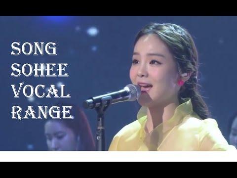 Song Sohee - 송소희 - Vocal Range (E3-F5-G5)