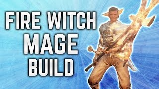 Dark Souls 3 Builds - Fire Witch Mage (PvP/PvE) - Pure Sorcerer Build - Immolation Tinder