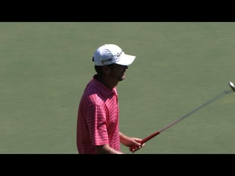 Sean O'Hair birdies from downtown at the TOUR Championship