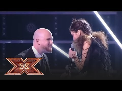 Finala X Factor 2018. Duet. Ioana Bulgaru & Jeremy Ragsdale -