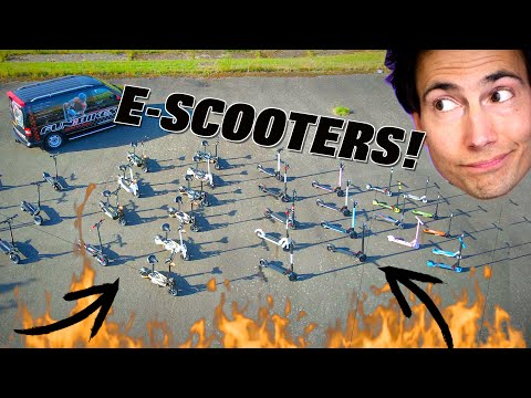 I found ALL the Electric Scooters...