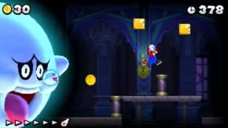 New Super Mario Bros. 2 - 100% Walkthrough - World 2 (All Star Coins & Secret Exits)