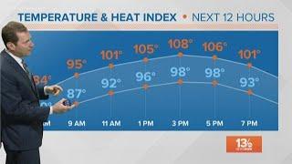 Heat and humidity continue to grip Hampton Roads