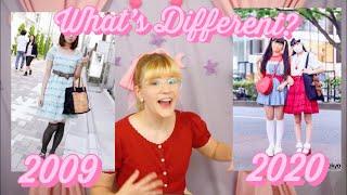 Harajuku Fashion Then and Now 🌷🌸🌿 2009 vs 2020